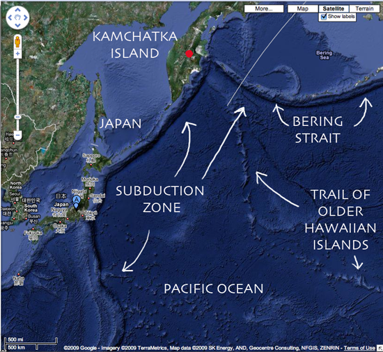 LOTS OF VOLCANIC ACTION   Culture of Life News Pacific Ocean Underwater Map