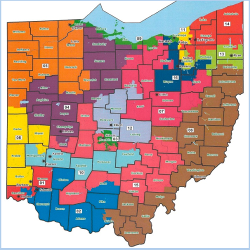 Ohio Gerrymandering by GOP 2