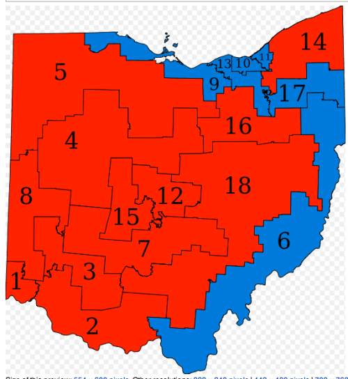 Ohio Gerrrymandering by GOP 3