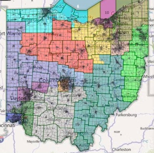 Ohio Gerrymandering by GOP 4