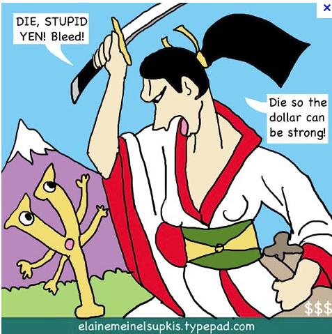 Die, stupid yen