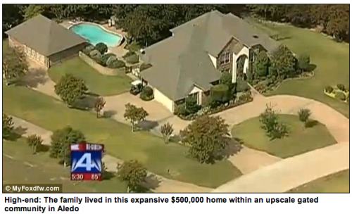 Wealthy home of Texas mass family murder boy