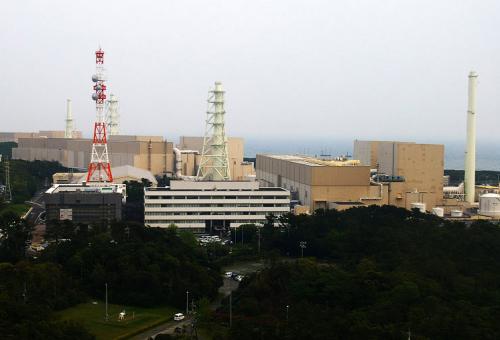 Hamakoa nuclear power plant Japan