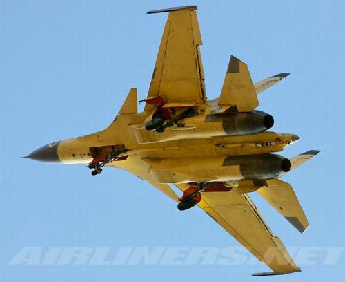 China's J-15 fighter jet