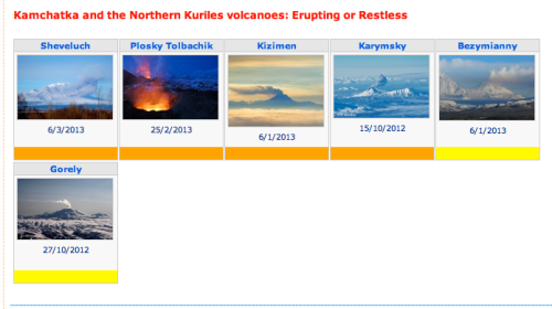 Russian volcanoes may erupt soon