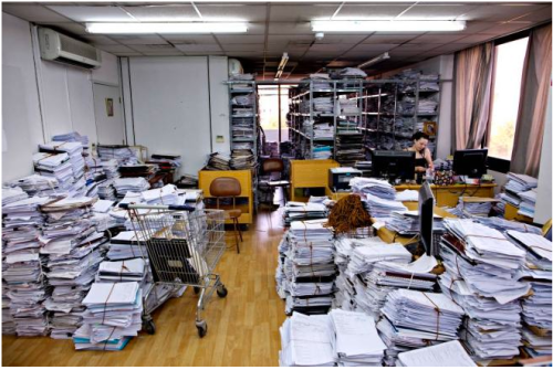 Cyprus bank regulators drowned in paperwork