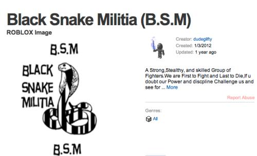 Black Snake Militia