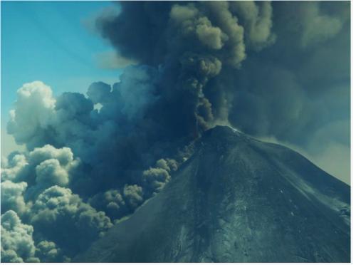 Pavlof volcano eruption gets stronger