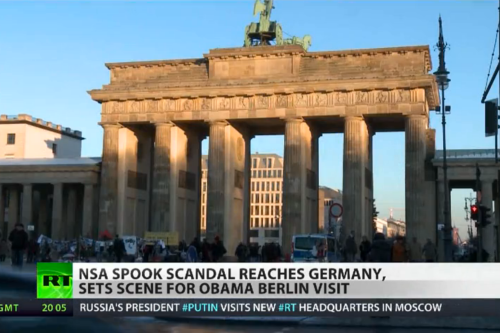 US spying on German citizens