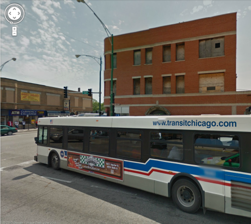 Chicago Ave and N. Cicero St. where many black on black murders happen