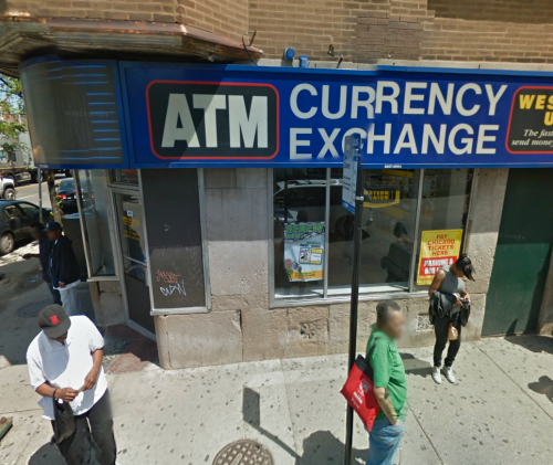 ATM for poor people right in middle of high murder intersection in Chicago