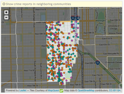 Englewood, Chicago has a very high murder rate