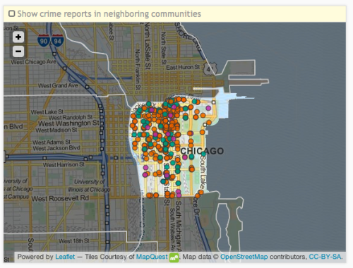 Chicago's Loop district is #1 for property crime