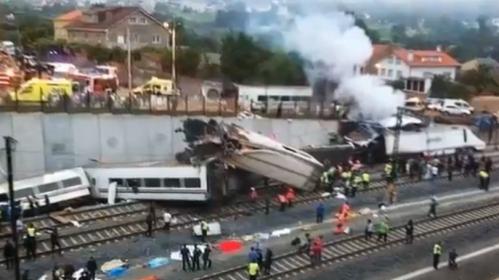 Spain train explosion