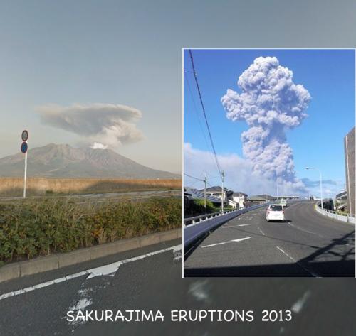 Sakurajima eruption 2013