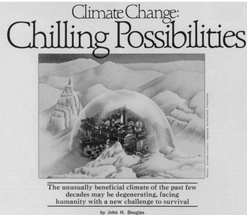 1976 Ice age science news