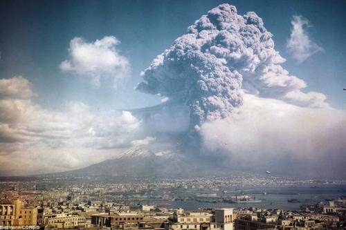 1944 Vesuvius Eruption