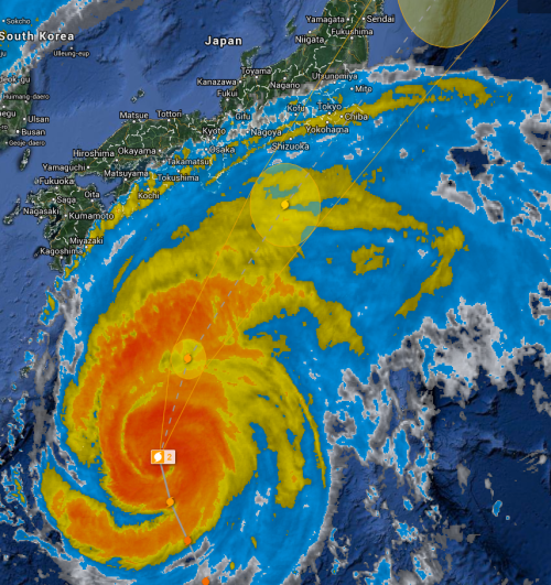Typhoon to Fukushima