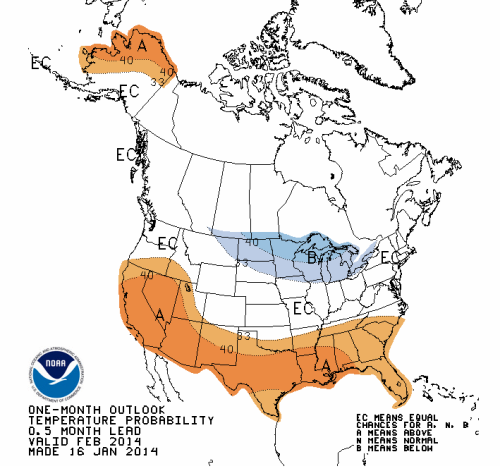 NOAA forecast still has Northeast 'normal' winter