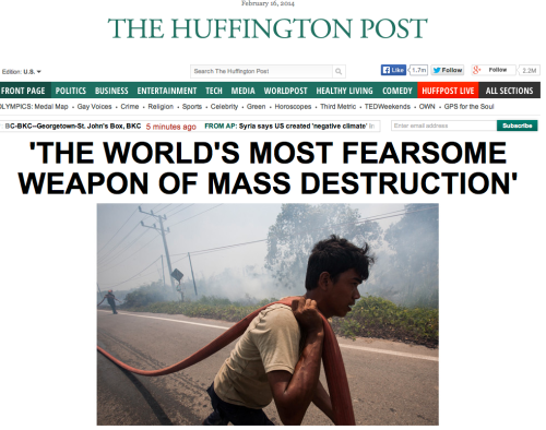 Huffington Post joins War On Warm