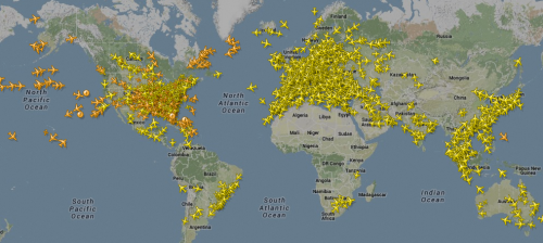 jet traffic March 2014