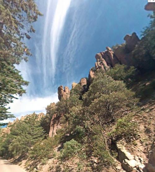 chiracaqua mountains Arizona Apache territory