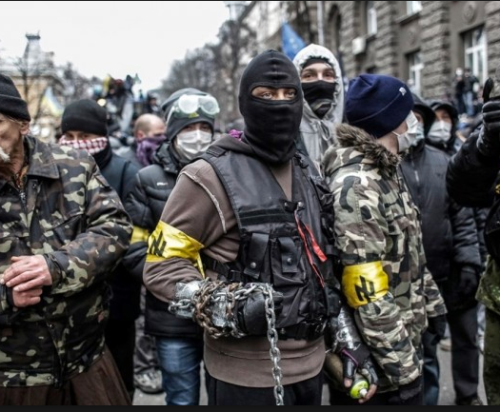 pro-EU real Nazis in Kiev