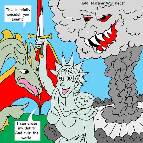 total nuclear warfare