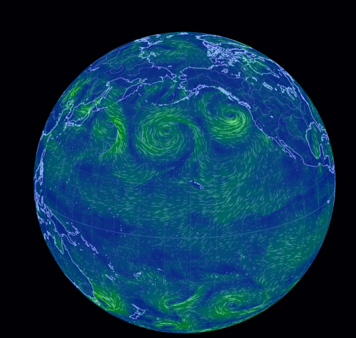 May 2014 wind map