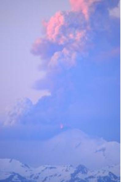 Pavlov volcano Alaska erupting June 4 2014