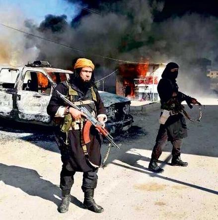 Iraqi al Qaeda imitating Star Wars Jedi