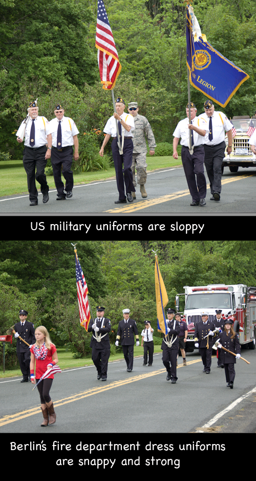 us military uniforms are sloppy