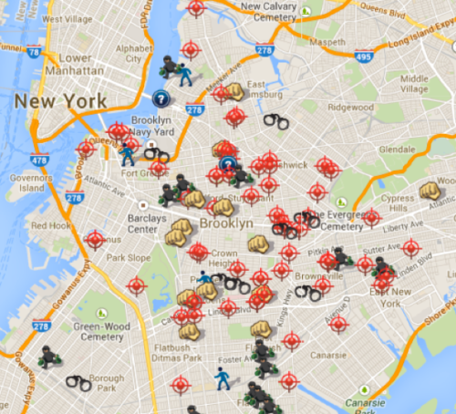 Brooklyn shootings August July 2014