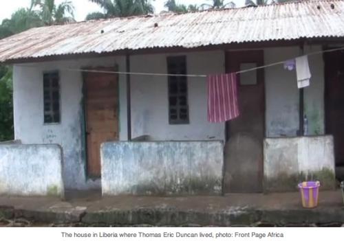Duncan's Liberian hovel