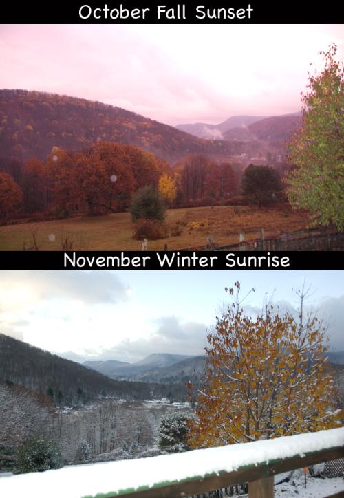 october fall sunset november winter sunrise 2014