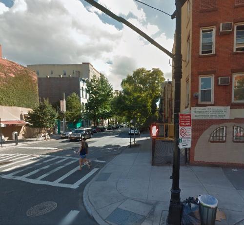 Myrtle Ave in Brooklyn gentrified neighborhood where cops were shot dead