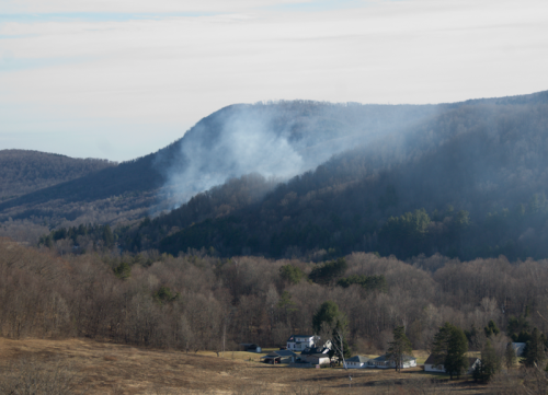 Berlin NY forest fire put out April 2015