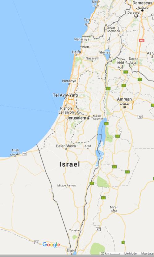 Israel eliminates Palestine Google maps