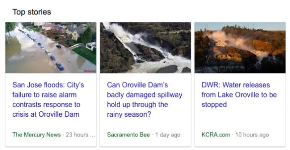 Oroville Dam News