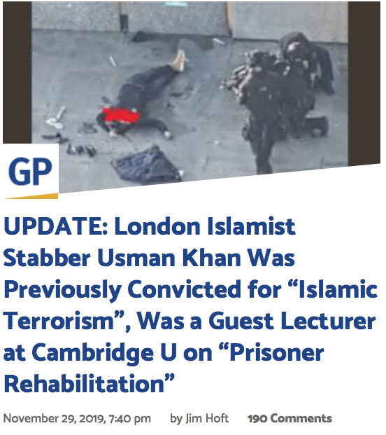 Out Of Chaos Comes Order Muslim Terrorist And Sex Murderer Intersect Same Minute On Bridge Culture Of Life News